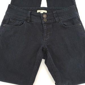 Cabi black straight / slim denim jeans Sz 4